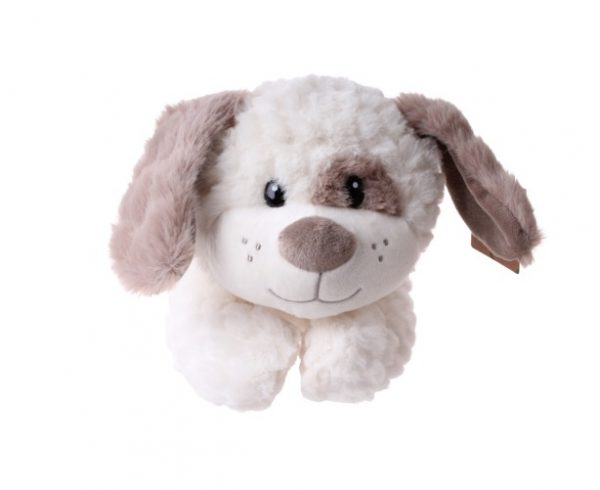 take me home knuffel hond junior 31 cm pluche wit bruin 396933 1589198103